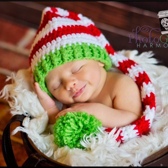 8a6412f51478f Handmade Elf Hats infant   toddler sizes